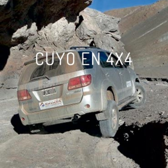 CUYO IN 4X4 – SAN JUAN AND MENDOZA<br>4D/3N