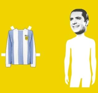 ¿Para quién juega Carlos Gardel?