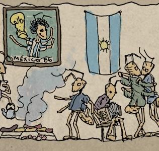 Las temibles hormigas argentinas