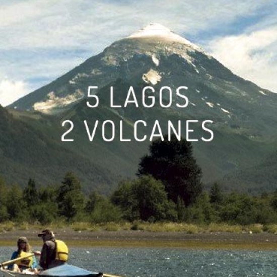 Journey 5 lakes 2 volcanoes