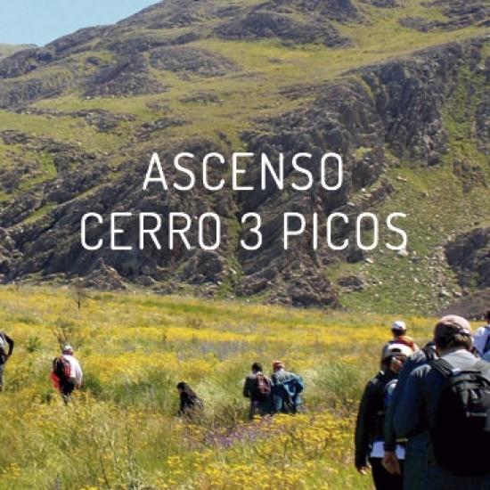 Ascenso al Cerro 3 Picos – Buenos Aires<br> 2D/1N
