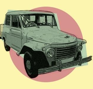 La Rastrojero: una camioneta gaucha